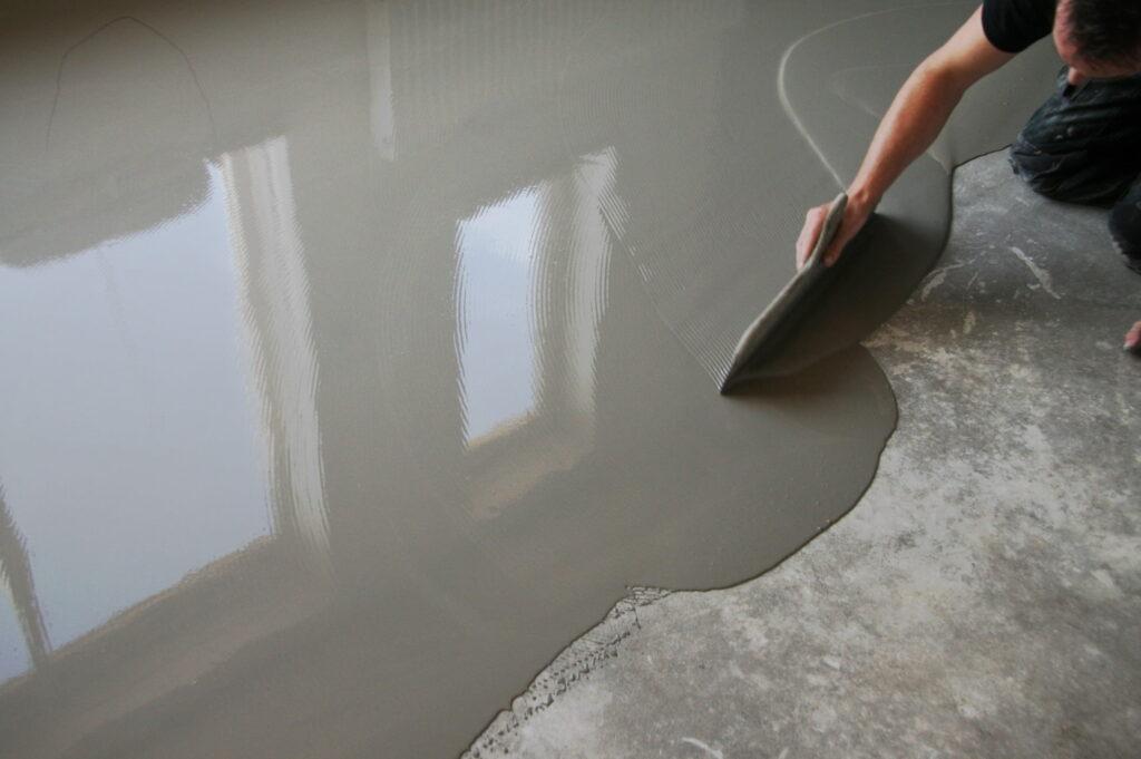 Ondervloer Eiken Vloer : Egaliseren van de vloer bebo parket
