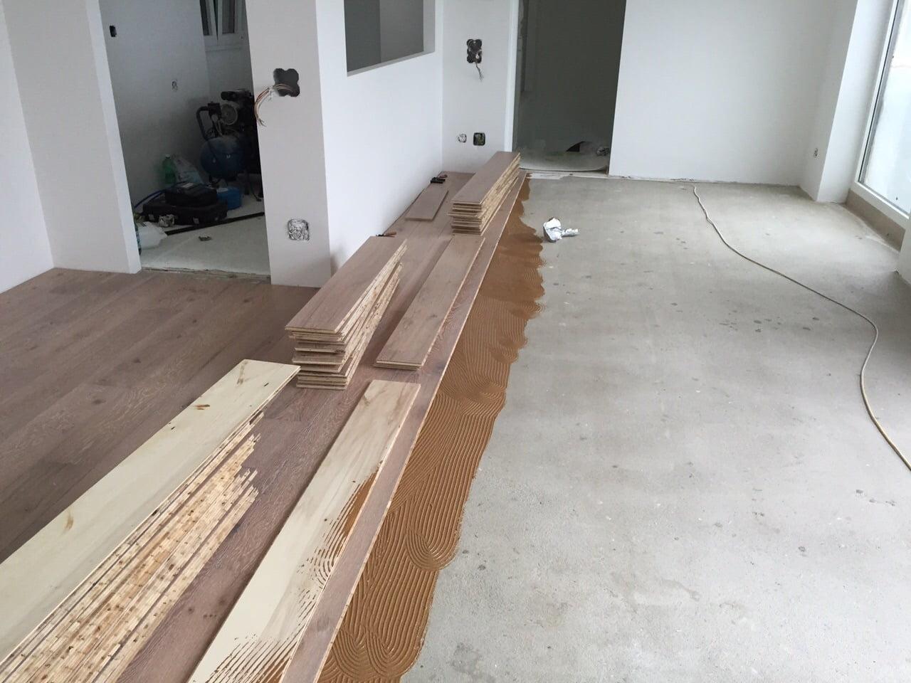 Hoe wordt een houten vloer gelegd bebo parket