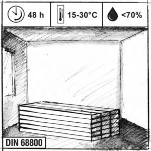 Acclimatiseren laminaatvloer Bebo Parket
