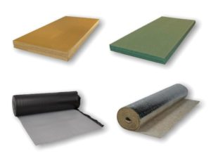 ondervloer voor laminaat Bebo Parket