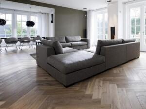 Tapis / bourgogne houten vloer van Bebo Parket