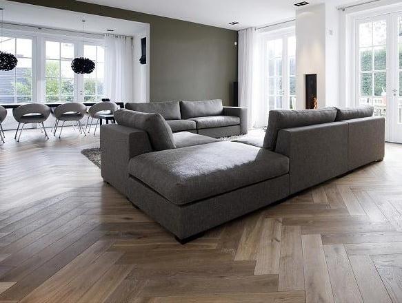 Zwarte Keuken Houten Vloer : Soorten houten vloeren