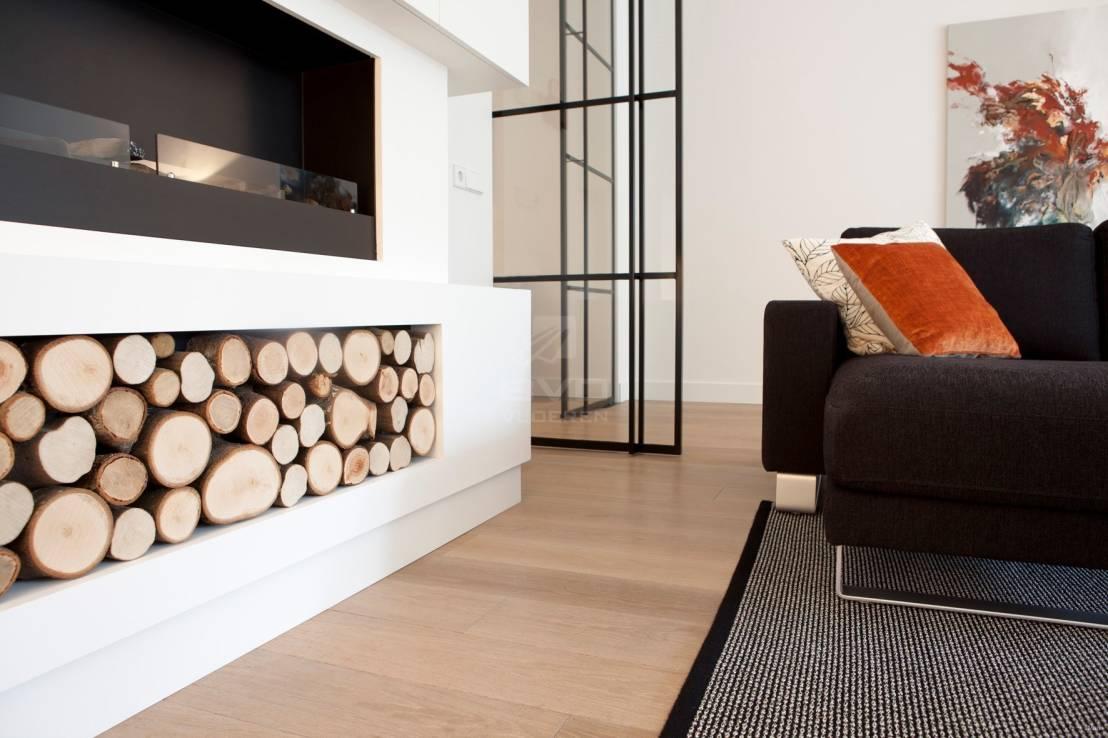 Strakke visgraat in een modern appartement hoog □ exclusieve