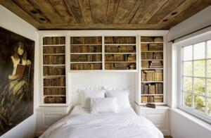 houten vloeren in slaapkamer