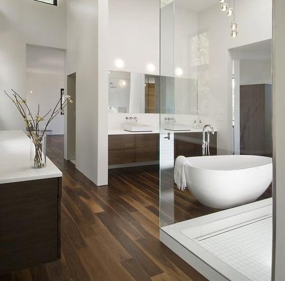 laminaat badkamer | Bebo Parket