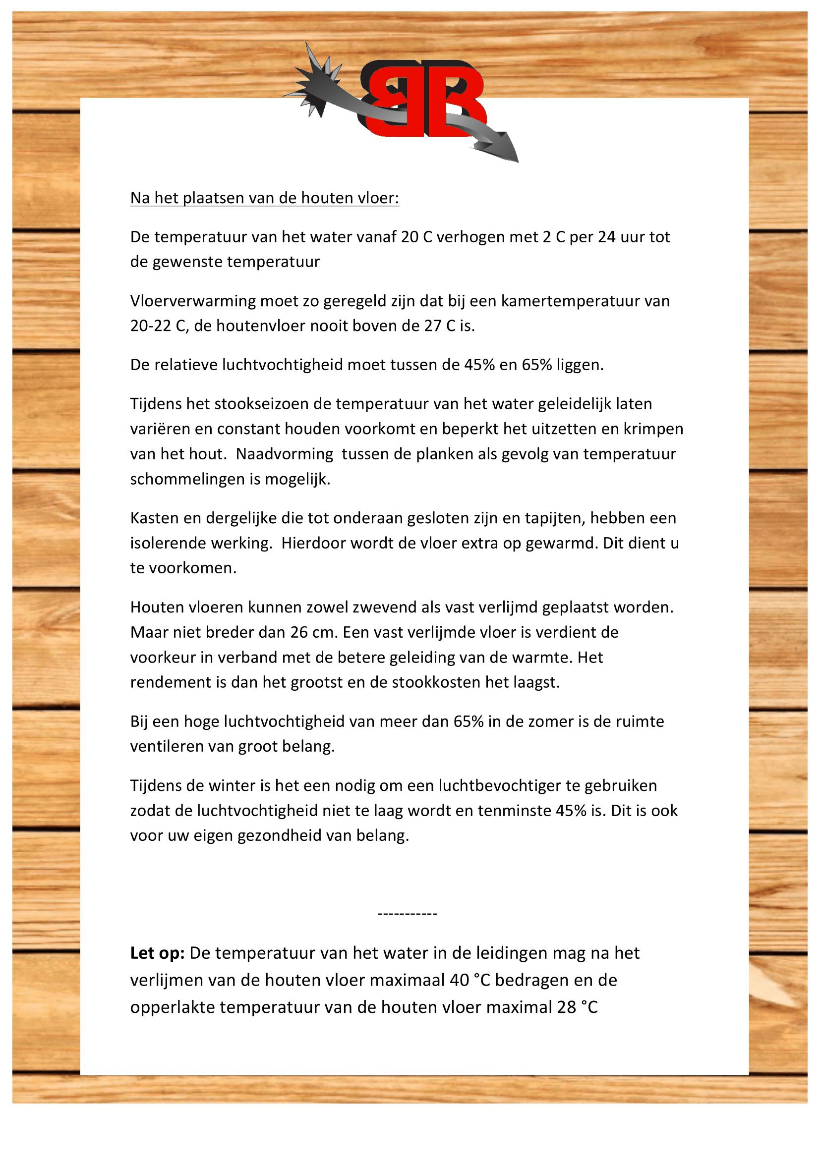 Bebo Stookprotocol 1.2-2