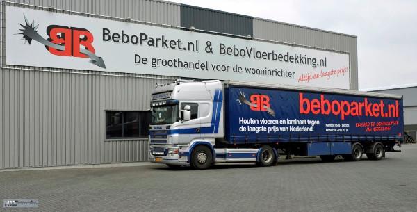 Vrachtauto Beboparket