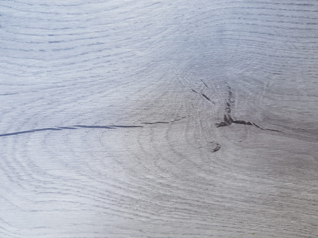 Afbeelding van Rustiek grijs eiken laminaat
