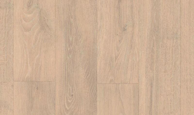 lichtgrijs laminaat brede plank met v groef en voelbare houtstructuur 8 millimeter dik