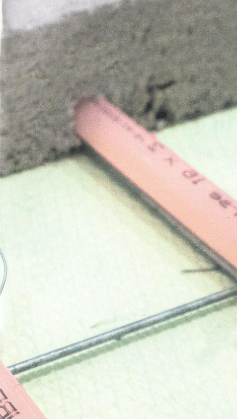 Opstookprotocol voor natte vloerverwarming